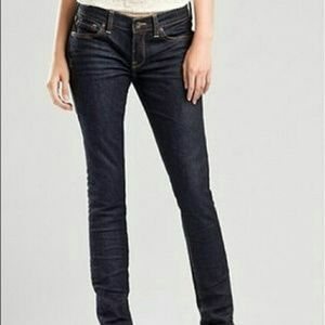LUCKY BRAND ZOE SKINNY PERFECTLY DISTRESSED JEANS